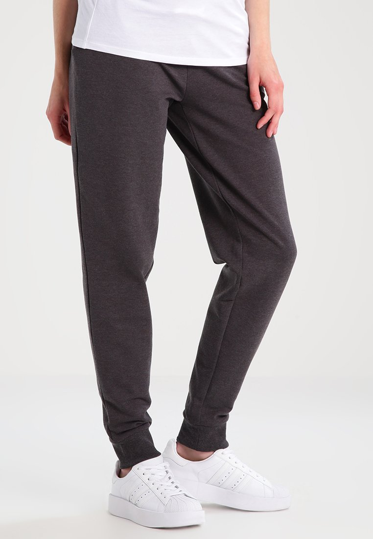 Zalando Essentials Maternity - Tracksuit bottoms - dark grey melange