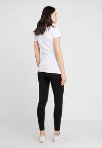 Zalando Essentials Maternity - 2 PACK - Leggings - black/grey - 2