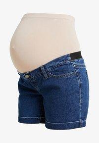Zalando Essentials Maternity - Džínové kraťasy - blue denim - 3