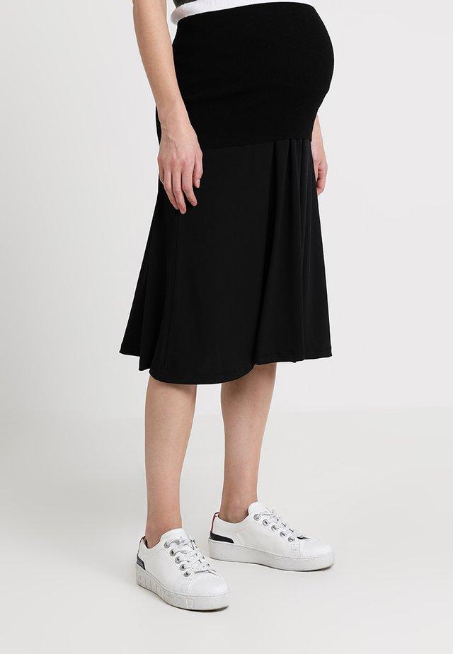 A-line skjørt - black