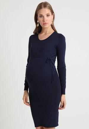 Pletené šaty - peacoat