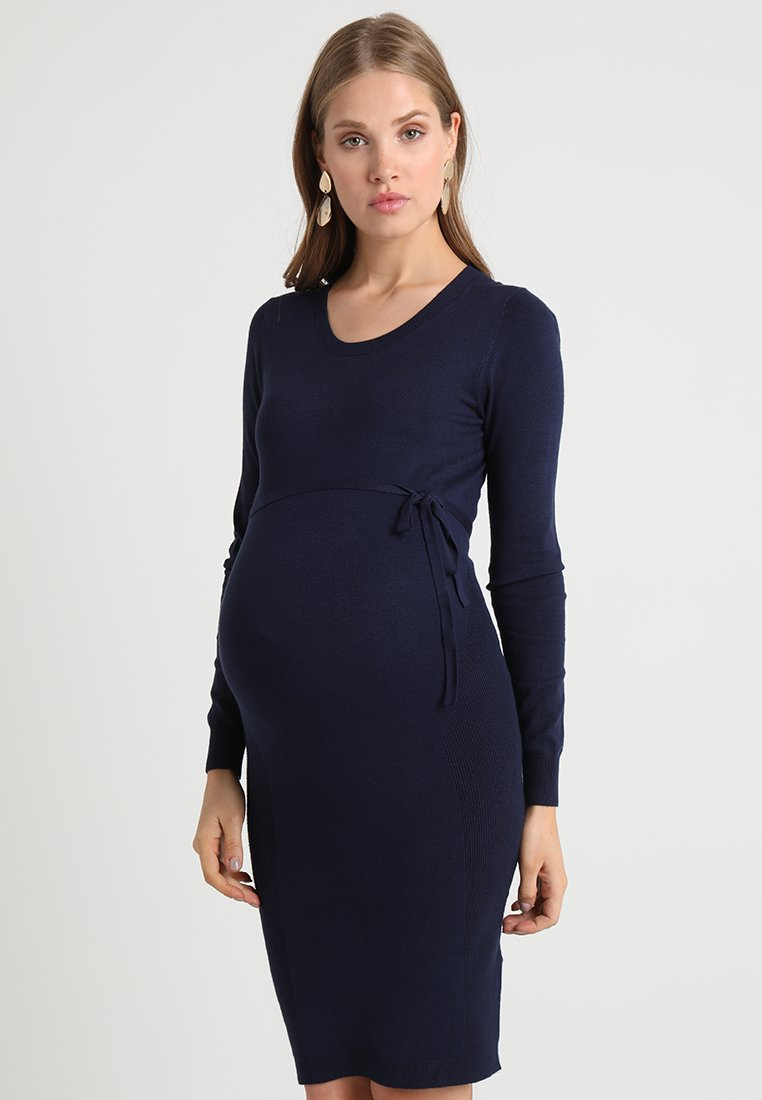 Zalando Essentials Maternity - Jumper dress - peacoat