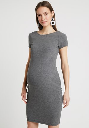 Shift dress - dark grey mélange