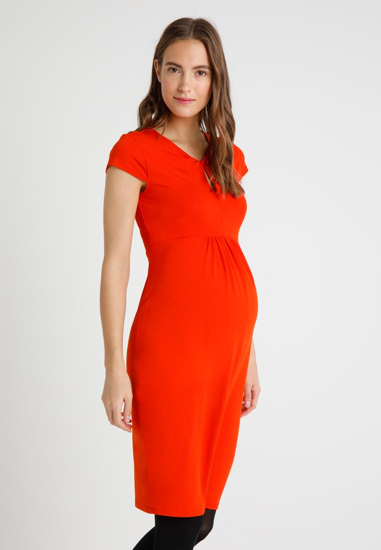 Zalando Essentials Maternity - Jerseykjoler - orange