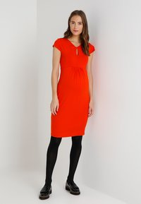 Zalando Essentials Maternity - Jerseykjoler - orange - 1