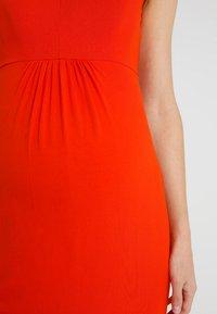 Zalando Essentials Maternity - Jerseykjoler - orange - 5
