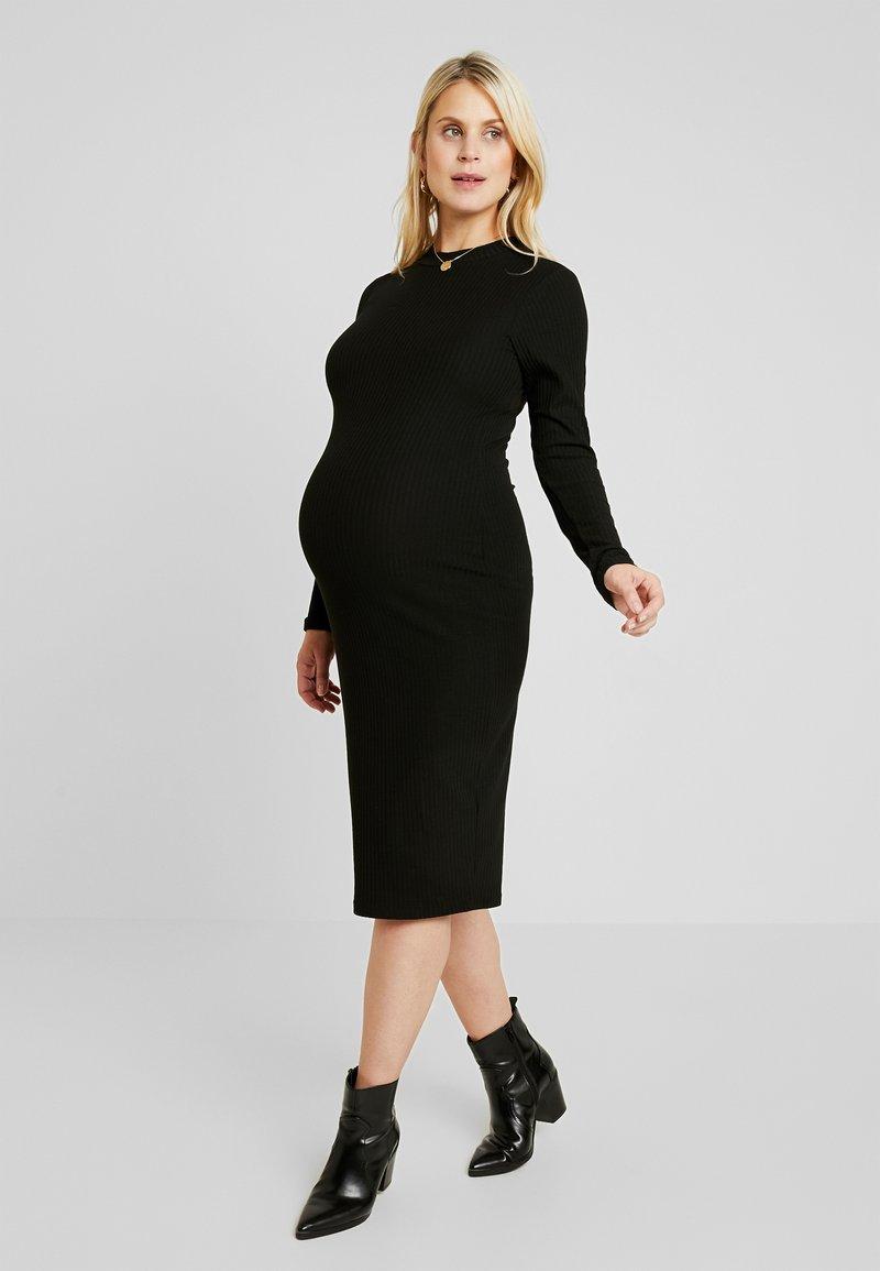 Zalando Essentials Maternity - Robe en jersey - black