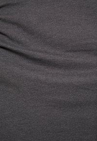 Zalando Essentials Maternity - 2 PACK - Etuikjoler - black/mottled dark grey - 6