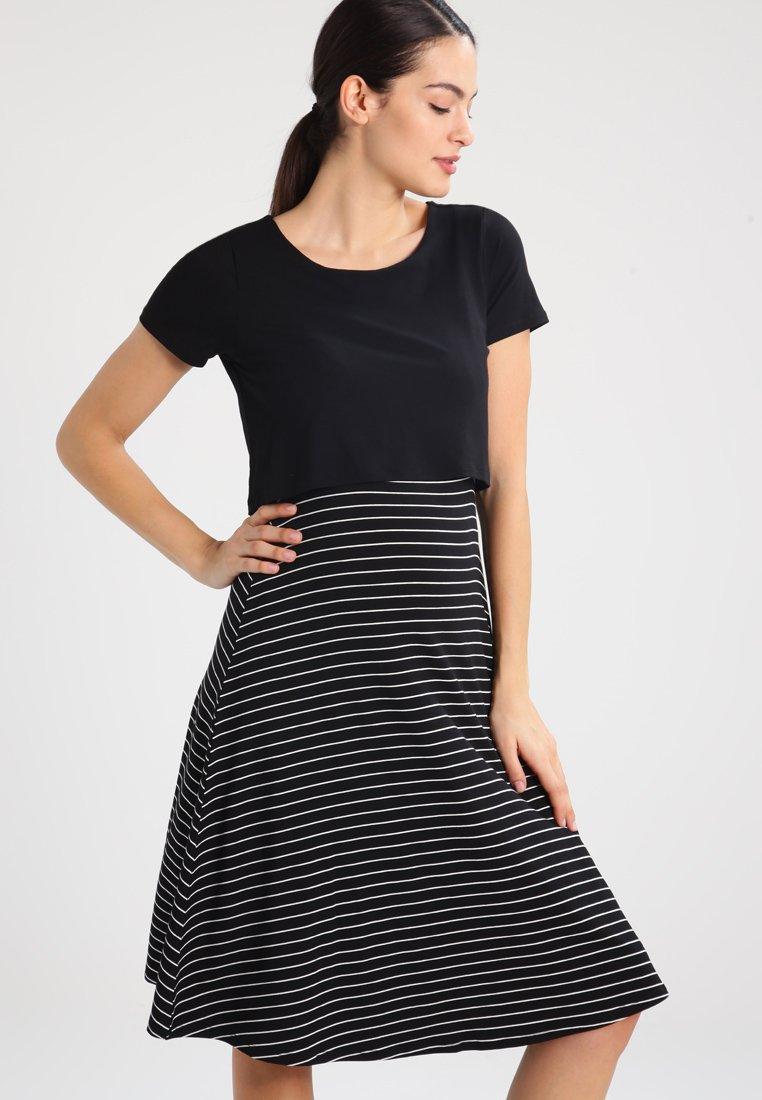 Zalando Essentials Maternity - Jerseykleid - black/off-white