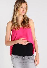 Zalando Essentials Maternity - 2 PACK - Midjebelte - white/black - 3