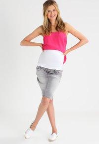Zalando Essentials Maternity - 2 PACK - Midjebelte - white/black - 1