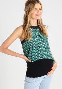 Zalando Essentials Maternity - 2 PACK - Cinturón - black - 0