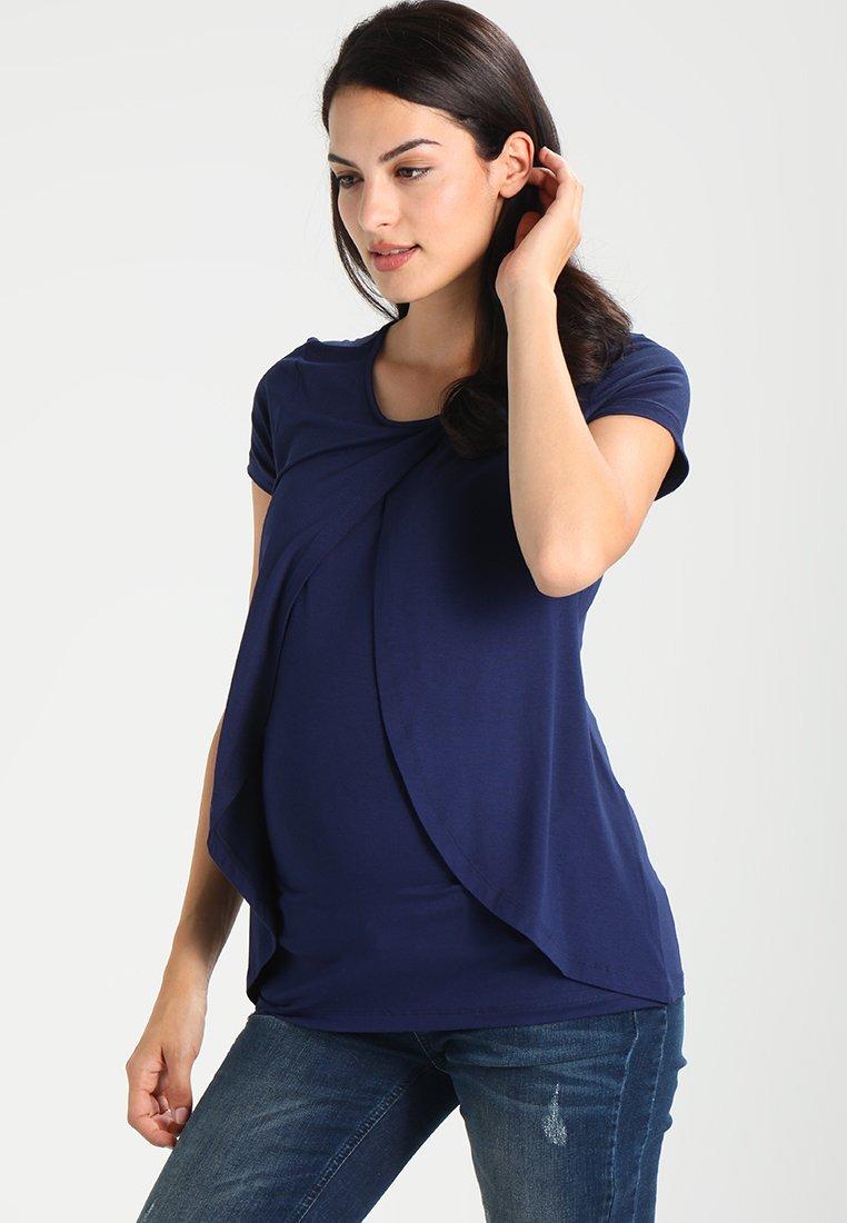 Zalando Essentials Maternity - T-shirt med print - peacoat