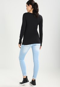 Zalando Essentials Maternity - 2 PACK  - Bluzka z długim rękawem - black - 2