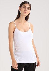 Zalando Essentials Maternity - 3 PACK - Top - black/greymel/white - 3