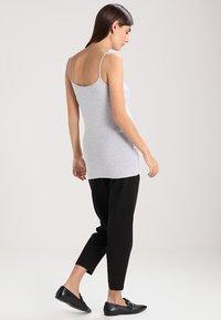Zalando Essentials Maternity - 3 PACK - Top - black/greymel/white - 2