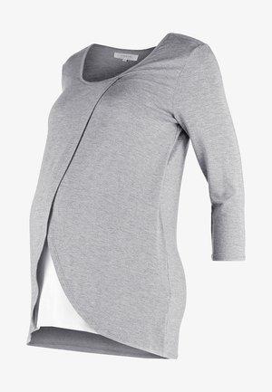 Camiseta de manga larga - mid grey melange