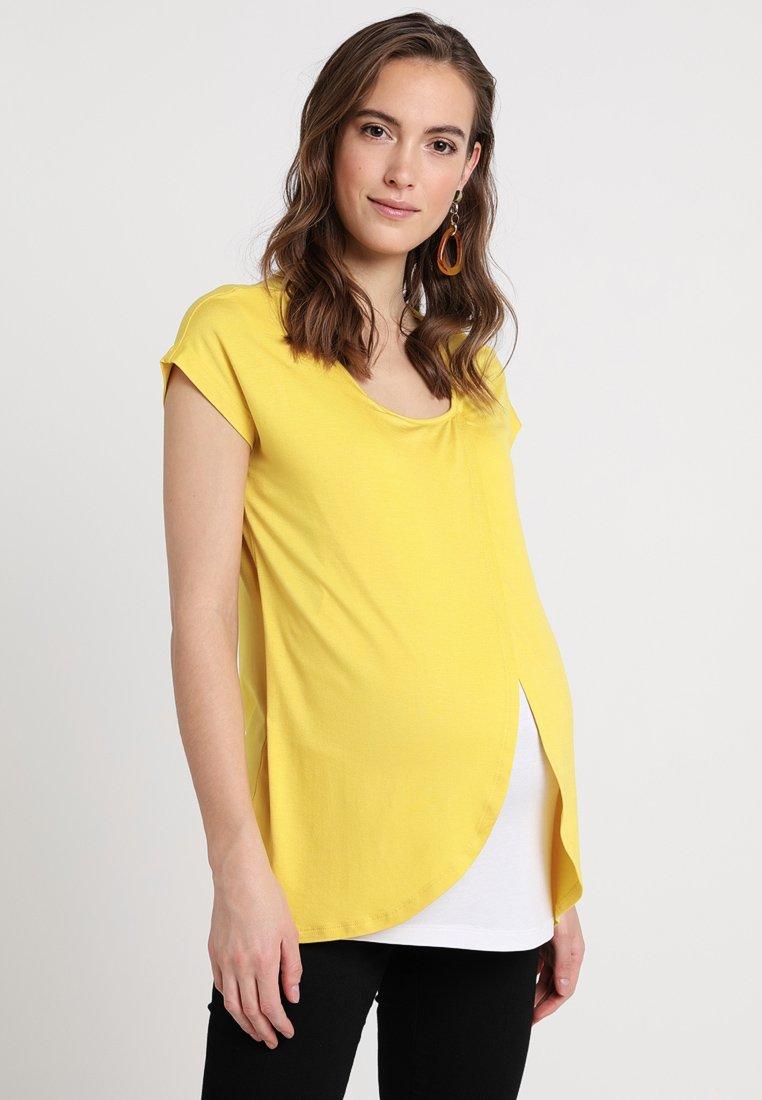 Zalando Essentials Maternity - Print T-shirt - yellow