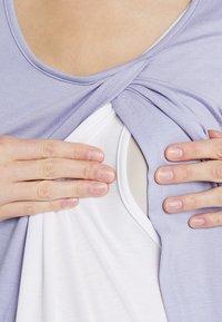 Zalando Essentials Maternity - T-shirt z nadrukiem - sweet lavendar - 5