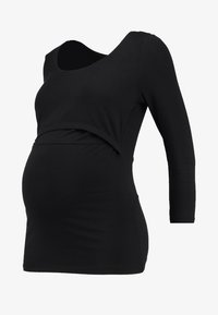 Zalando Essentials Maternity - Topper langermet - black - 5