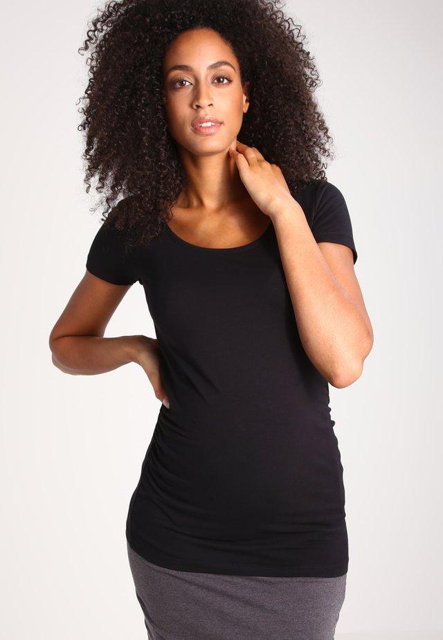 2 PACK  - Langærmede T-shirts - black/black