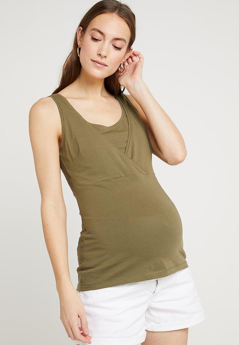 Zalando Essentials Maternity - Top - burnt olive