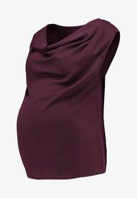 Zalando Essentials Maternity - Blouse - bordeaux - 3