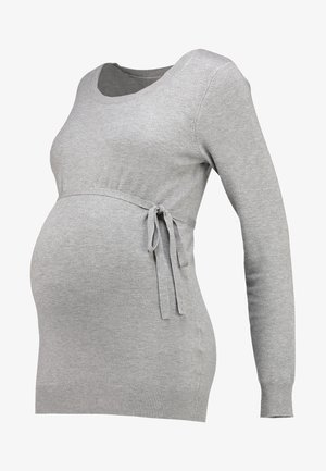 Jersey de punto - light grey melange