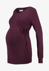 Zalando Essentials Maternity - Stickad tröja - winetasting - 4