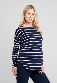 Zalando Essentials Maternity - Sweter - dark blue/off-white - 0