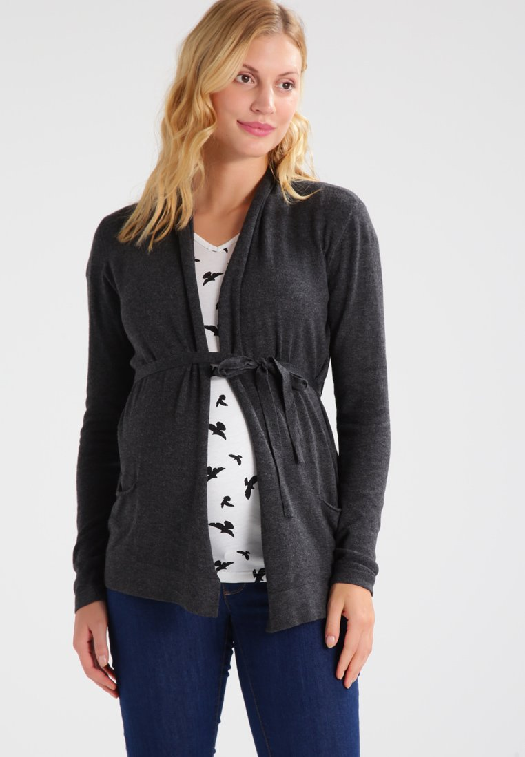 Zalando Essentials Maternity - Cardigan - mottled dark grey