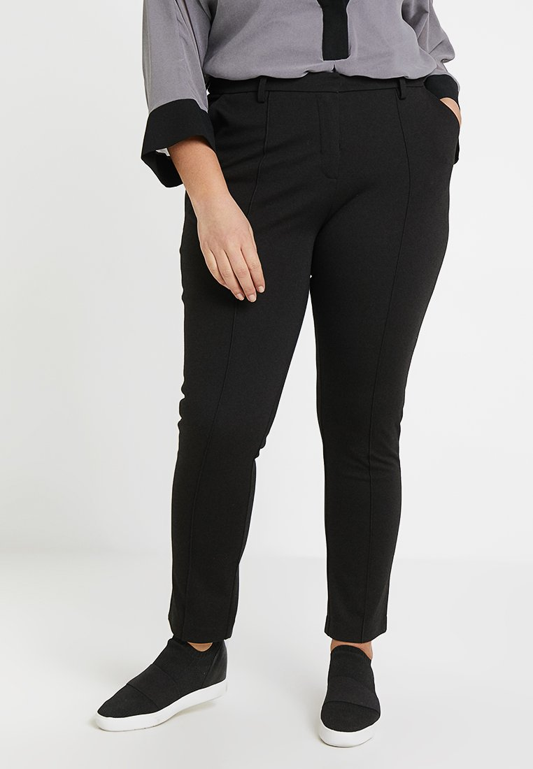 Zalando Essentials Curvy - Pantalon classique - black