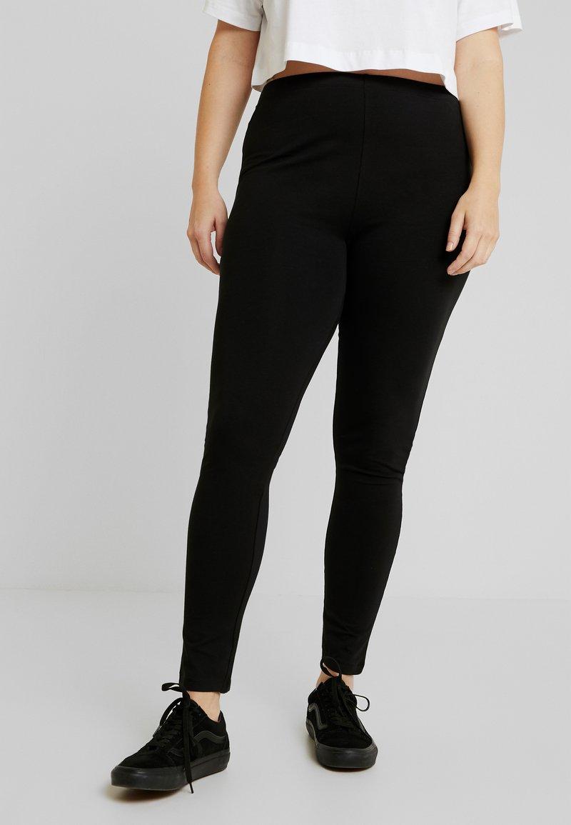 Zalando Essentials Curvy - 2 PACK - Leggings - Hosen - black