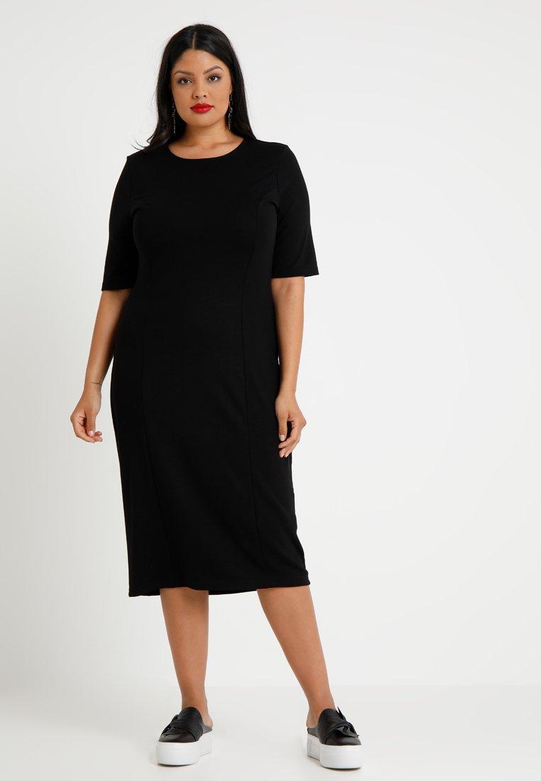 Zalando Essentials Curvy - Fodralklänning - black