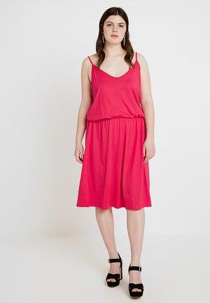 Jersey dress - virtual pink