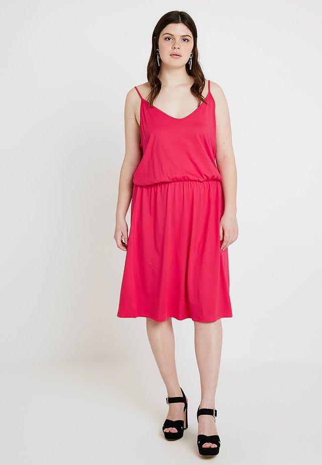 Jerseykleid - virtual pink