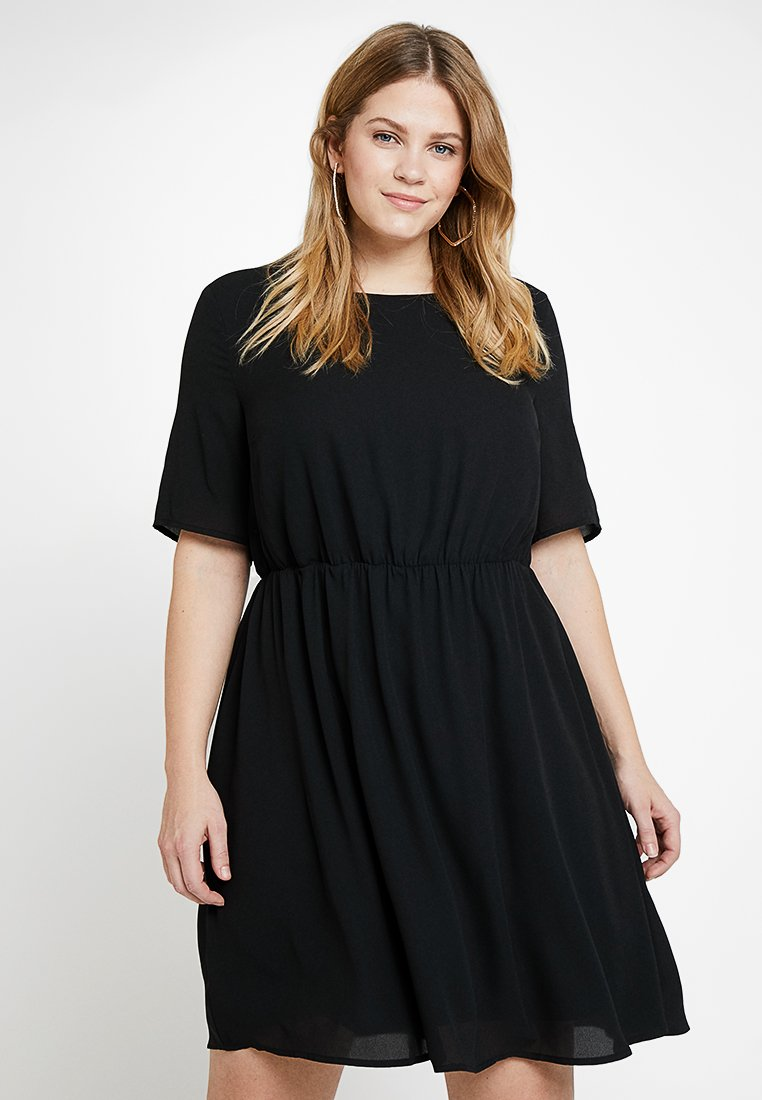 Zalando Essentials Curvy - Freizeitkleid - black