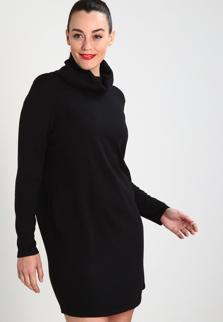 Zalando Essentials Curvy - Jumper dress - black