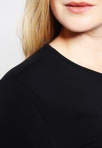 Zalando Essentials Curvy - Jersey dress - black - 4