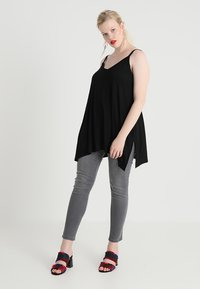 Zalando Essentials Curvy - Top - black - 1