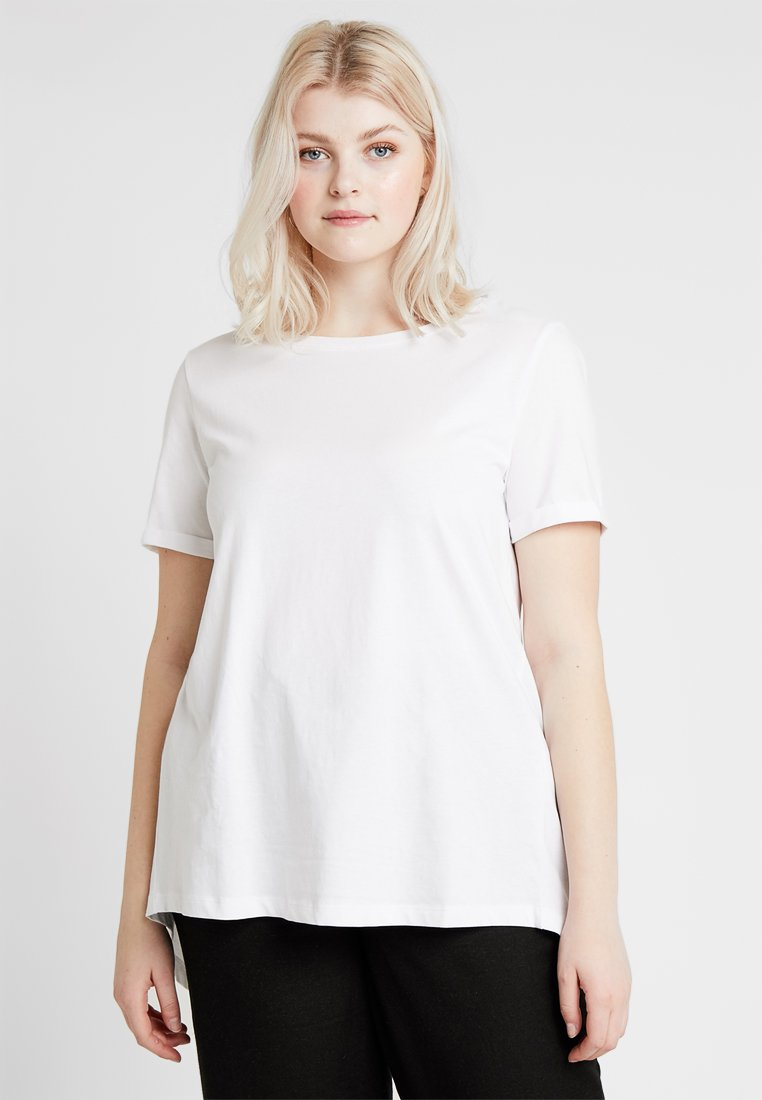 Zalando Essentials Curvy - Basic T-shirt - bright white