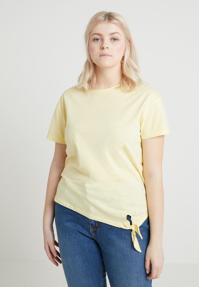 Basic T-shirt - mellow yellow