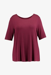 Zalando Essentials Curvy - T-shirt basic - zinfandel - 4