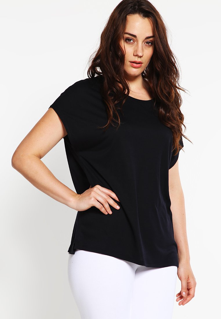 Zalando Essentials Curvy - Basic T-shirt - black