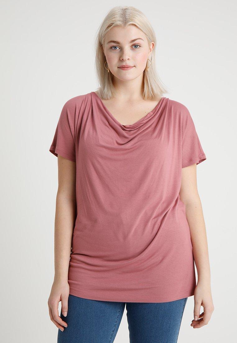 Zalando Essentials Curvy - T-Shirt basic - rose