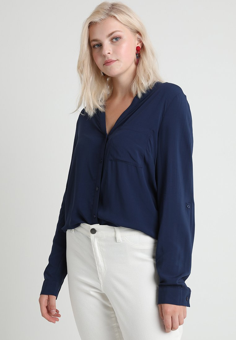 Zalando Essentials Curvy - Bluse - dark blue