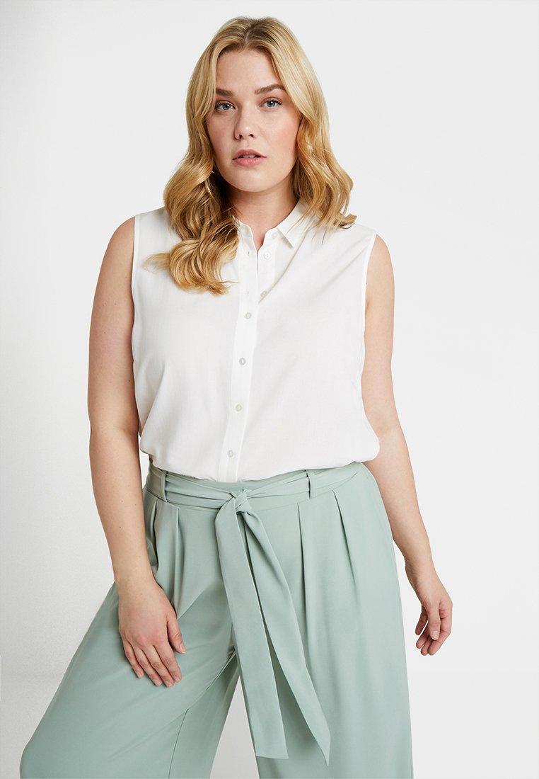 Zalando Essentials Curvy - Button-down blouse - offwhite