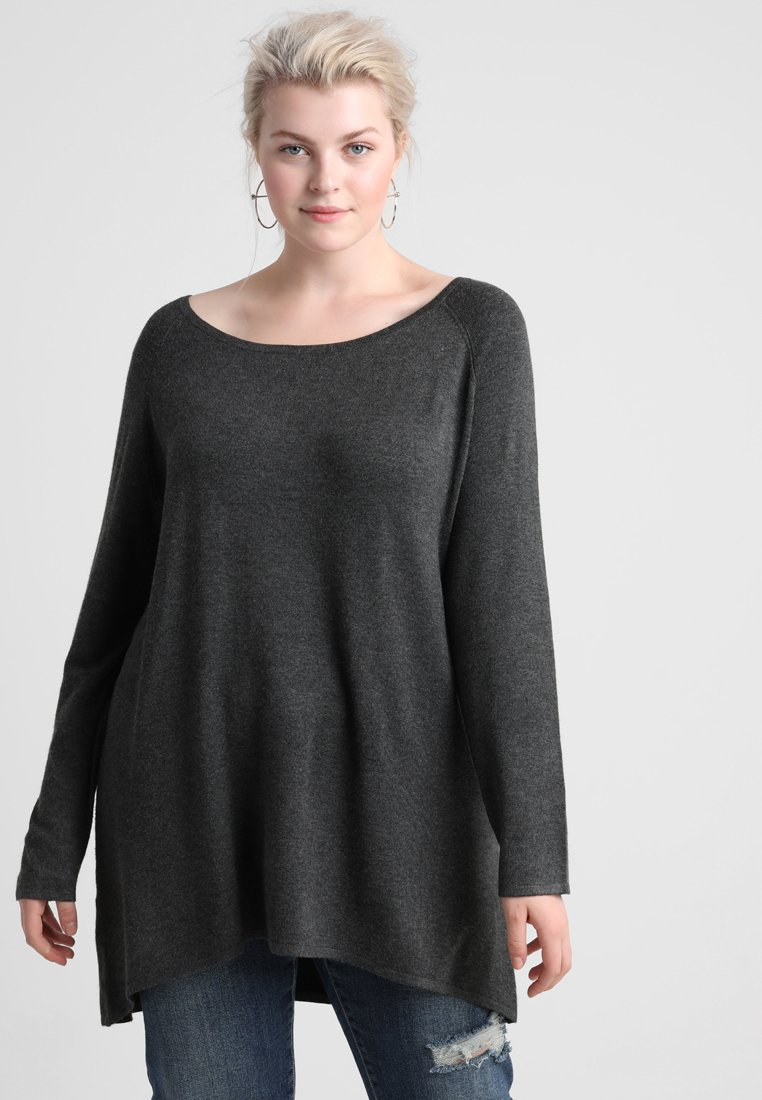 Zalando Essentials Curvy - Jersey de punto - dark grey