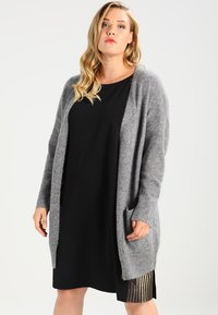 Zalando Essentials Curvy - Kardigan - light grey melange - 0