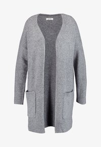 Zalando Essentials Curvy - Kardigan - light grey melange